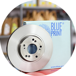 Blueprint rezervni delovi za servis auto kočnica